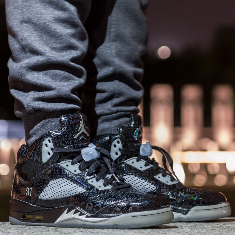 """7981adfa9107 The Sneakers of the day goes to  commongrails rockin  his Air Jordan V  """"Doernbecher"""" released on 14th of September 2013. Doernbecher series is one  of the ..."""