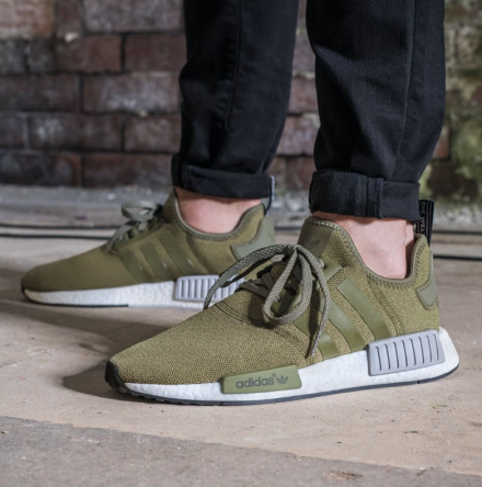 "d7afd339c 26th of August – Adidas NMD R1 ""Olive Cargo-Green"" (Footlocker EU ..."