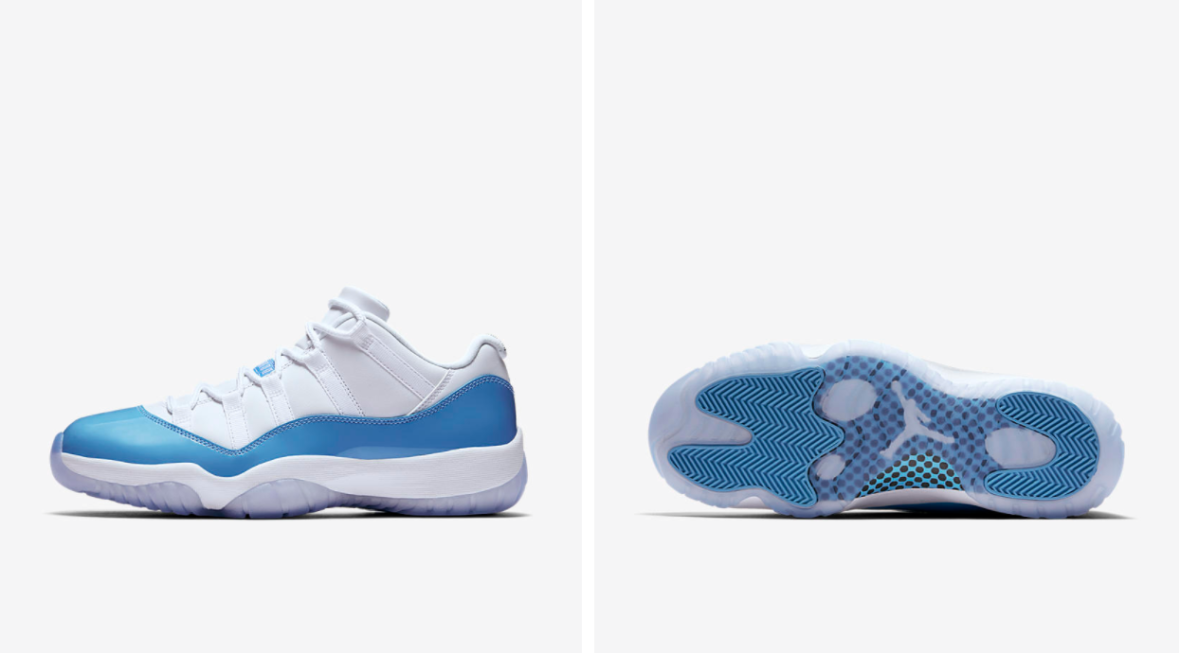 "56dfda53234 15th of April release – Air Jordan XI Retro Low ""University Blue ..."