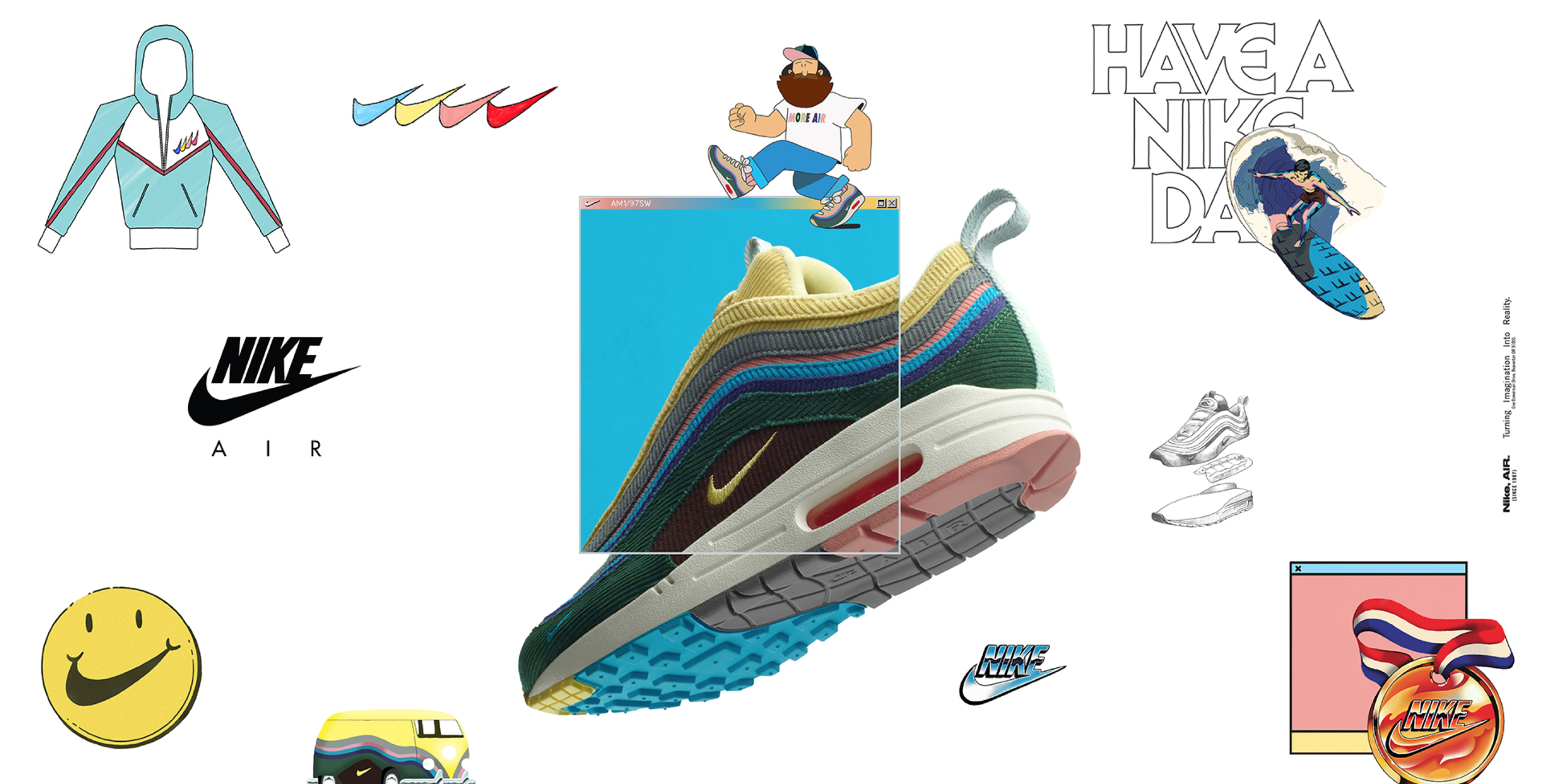 purchase cheap 0b899 3b066 Sean Wotherspoon x Nike Air Max 1/97 (24th of March ...