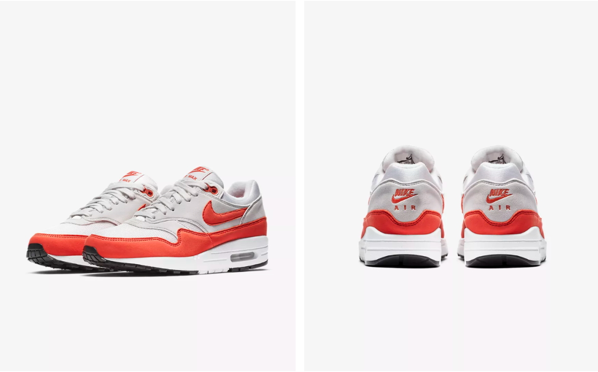 """7912158c2b 3rd of May – Nike Wmns Air Max 1 """"Habanero Red"""" – Exclusivelykicks"""