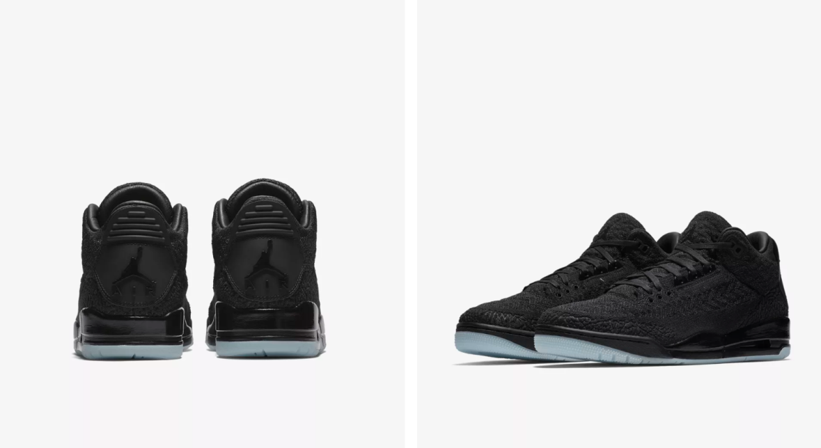 "new arrivals 69e61 1a622 Release info   18th of August – Air Jordan 3 Flyknit ""Black"""